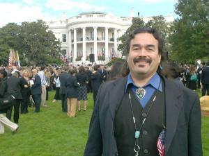 Evans at the Whitehouse