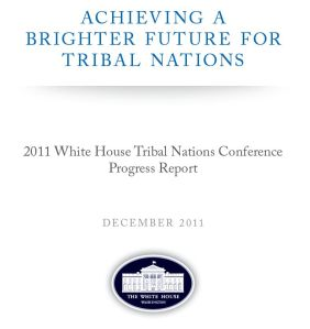 Achieving a Brighter Future for Tribal Nations