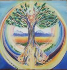 Luminous Warrior Rainbow Tree