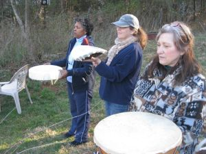 Azurae Windwalkers Drum Making